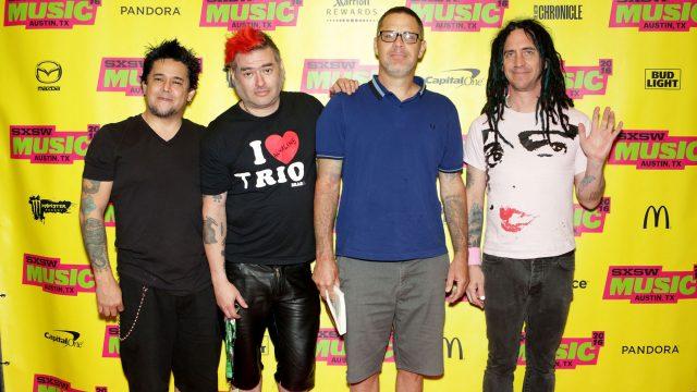 El Hefe, Fat Mike, Erik Sandin and Eric Melvin of NOFX