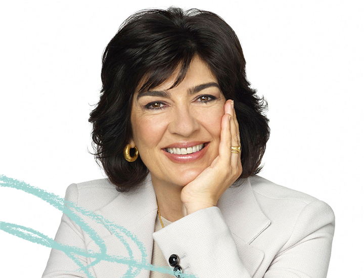 2018 Featured Speaker, Christiane Amanpour – Photo courtesy CNN