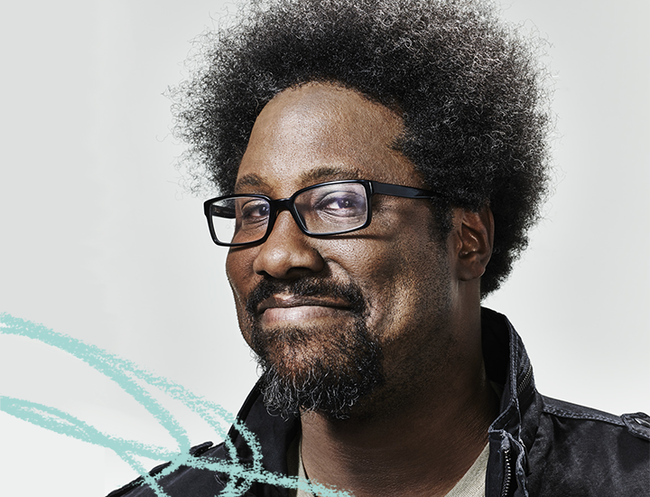 2018 Featured Speaker, W. Kamau Bell – Photo by John Nowak for CNN