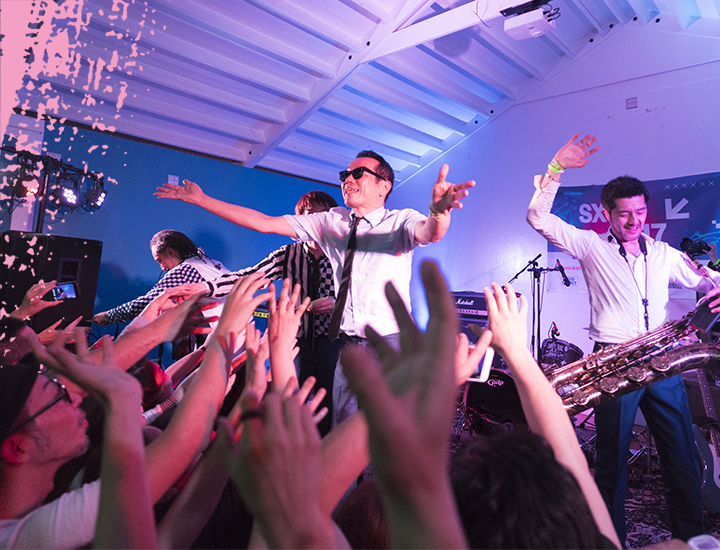 2017 SXSW Showcasing Artist, Tokyo Ska Paradise Orchestra – Photo by Scott Paxton