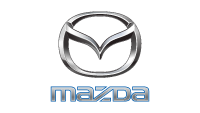 Mazda official car sponosr logo
