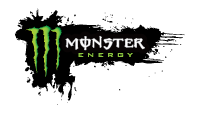 Monster Energy sponsor logo