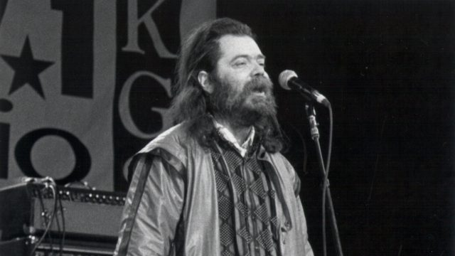 Roky Erickson at SXSW 1993. Photo by Martha Grenon.