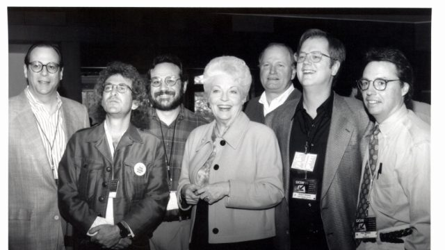 Governor Ann Richards and the SXSW Directors at SXSW 1993. Photo by Martha Grenon.