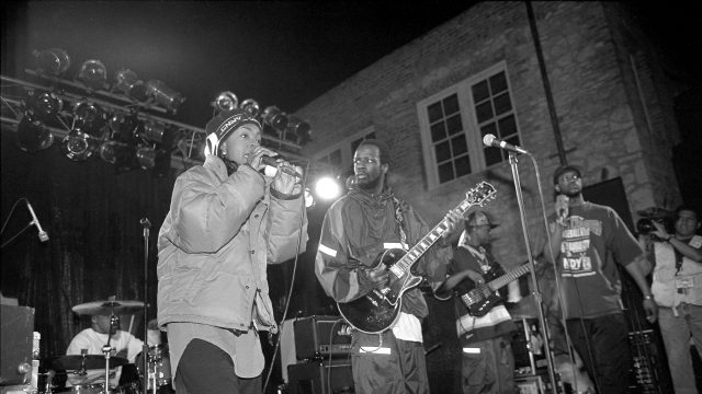 Fugees at SXSW 1996. Photo by Martha Grenon.