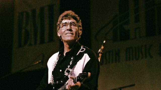 Carl Perkins at SXSW 1997. Photo by Theresa DiMenno.