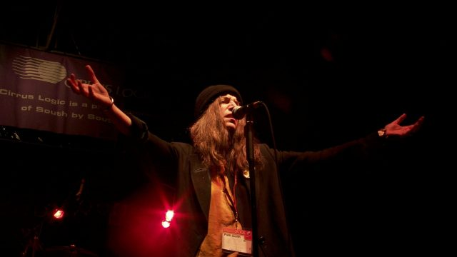 Patti Smith at SXSW 2000. Photo by Gary Miller.