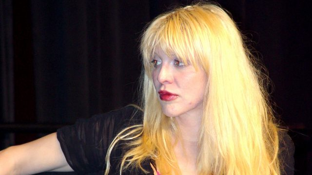 Courtney Love at SXSW 2002. Photo by Gary Miller.