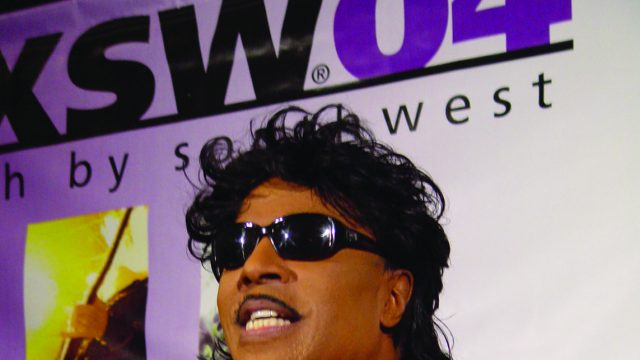 Little Richard at SXSW 2004. Photo by Gary Miller.