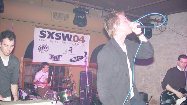 The Walkmen at SXSW 2004. Photographer unknown.