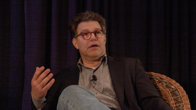 Al Franken at SXSW 2005. Photo by Gary Miller.