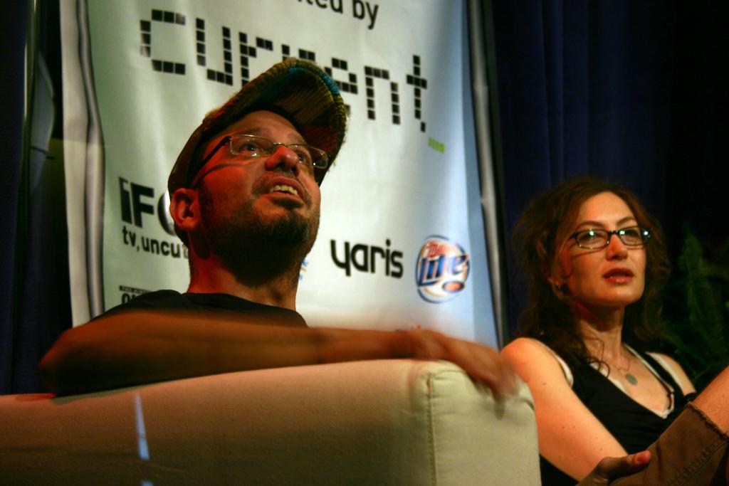 David Cross & Anabelle Gurewitch at SXSW Film 2006