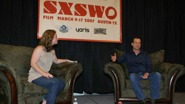 Bill Paxton at SXSW Film 2007. Photo by Gary Miller.