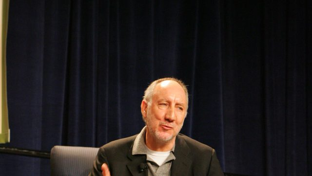 Pete Townshend at SXSW 2007. Photo by Gary Miller.