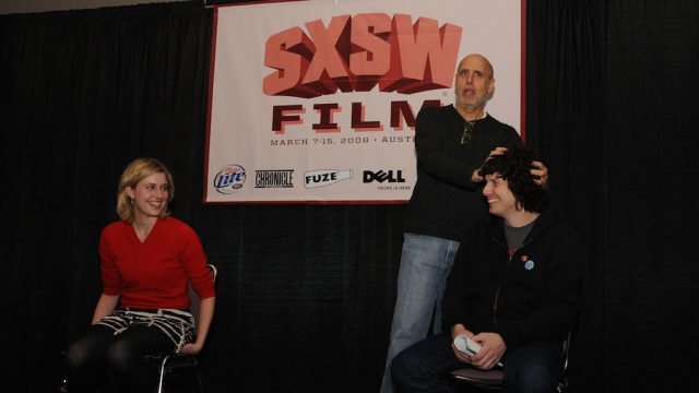 Jeffrey Tambor during an acting workshop at SXSW Film 2008. Photo by Ken Hitchcock.
