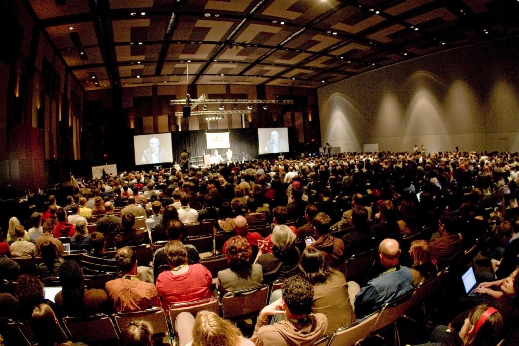 2008 Interactive Keynote room
