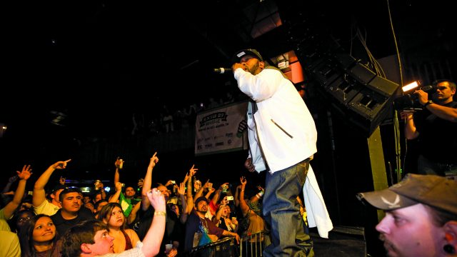 Bun B at SXSW 2009. Photo by Hutton Supancic.