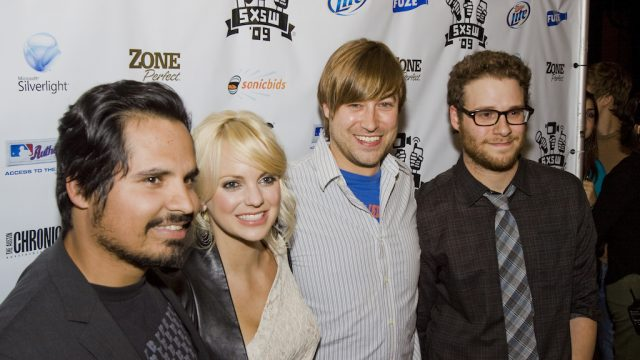 """Observe and Report"" premiere at SXSW Film 2009. Photo by Scott Melcer."