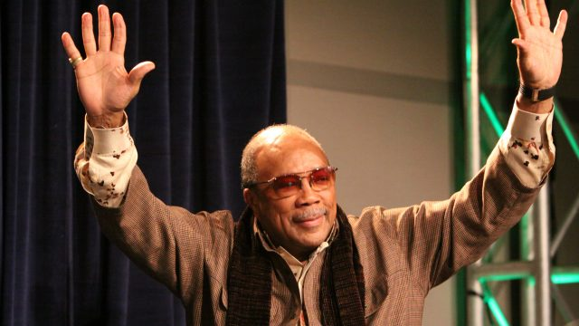 Quincy Jones at SXSW Music 2009. Photo by Erin Fotos.