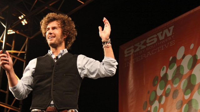 Blake Mycoskie (Toms Shoes) at SXSW Interactive 2011. Photo by Cory Harbour.