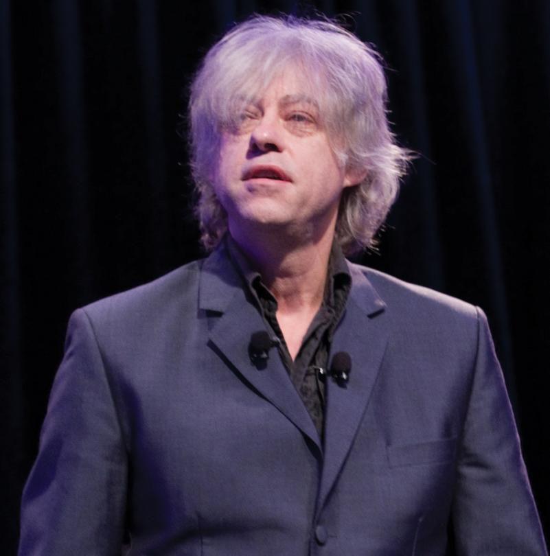 SXSW Music 2011 Keynote Speaker Bob Geldof