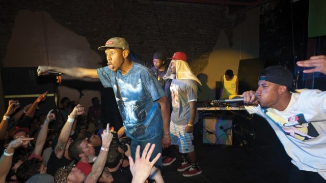 Odd Future at SXSW Music 2011. Photo by Bronson Dorsey.