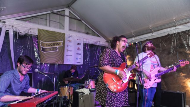 Alabama Shakes at SXSW Music 2012. Photo by Richard Kies.