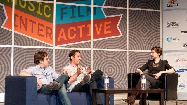 Inside Instagram with Kevin Systrom (founder & CEO) at SXSW Interactive 2012. Photo by Carlos Austin.
