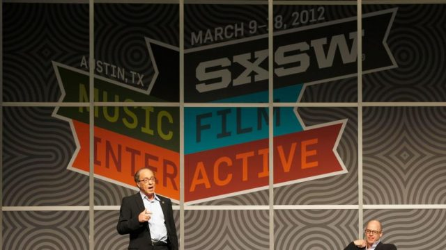 Ray Kurzweil (Google) at SXSW Interactive 2012. Photo by Sean Mathis/Getty Images.