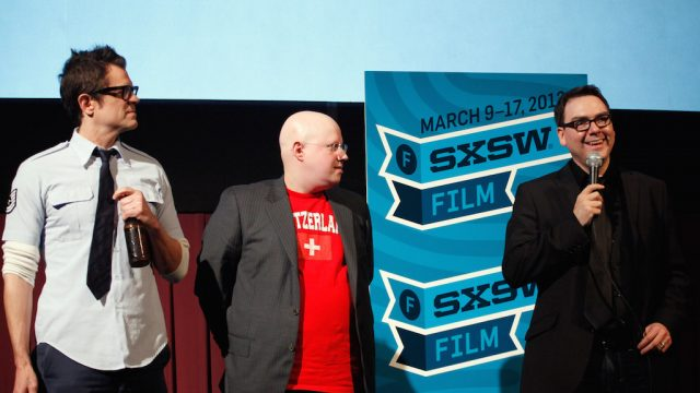 """Small Apartments"" premiere at SXSW Film 2012. Photo by Dustin Finkelstein/Getty Images."