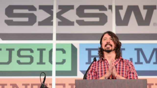 SXSW Music 2013 Keynote Speaker Dave Grohl. Photo by Mindy Best.