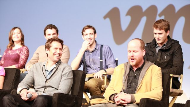 """Much Ado About Nothing"" Q&A with Joss Whedon at SXSW Film 2013. Photo by Michael Buckner/Getty Images."