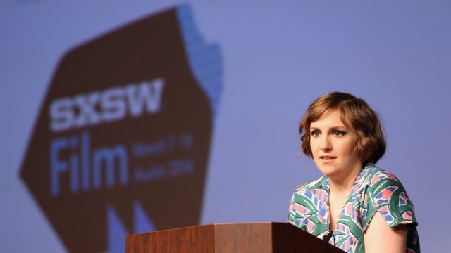 SXSW Film 2014 Keynote Speaker Lena Dunham. Photo by Michael Buckner/Getty Images.