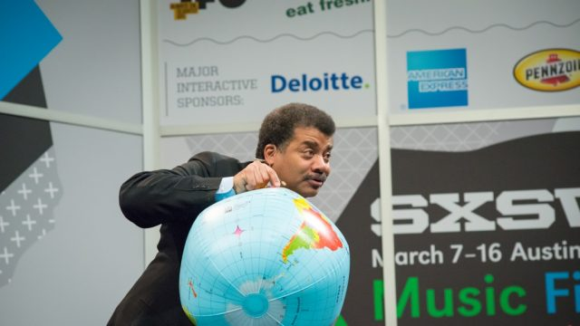 Neil deGrasse Tyson at SXSW Interactive 2014. Photo by Rebecca Hedges-Lyon.