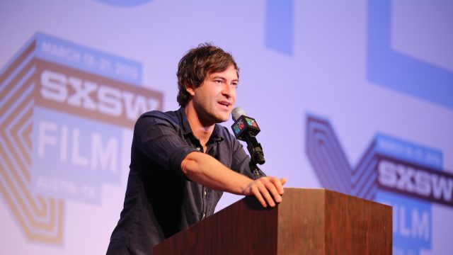 SXSW Film 2015 Keynote Speaker Mark Duplass. Photo by Heather Kennedy/Getty Images.