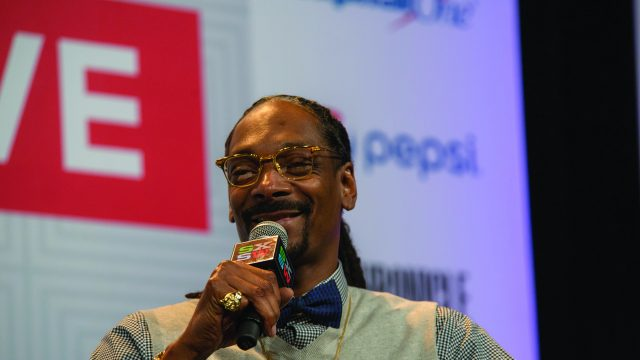 SXSW Music 2015 Keynote Speaker Snoop Dogg. Photo by Amanda Stronza.
