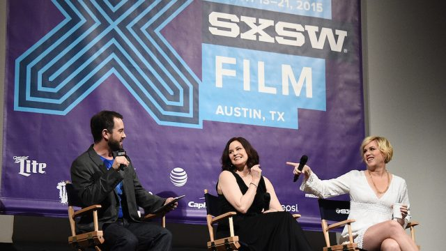 """The Breakfast Club"" Q&A at SXSW Film 2015. Photo by Michael Buckner/Getty Images."