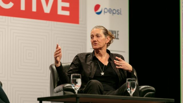 Martine Rothblatt (lawyer, author & entrepreneur) at SXSW Interactive 2015. Photo by Diego Donamaria.