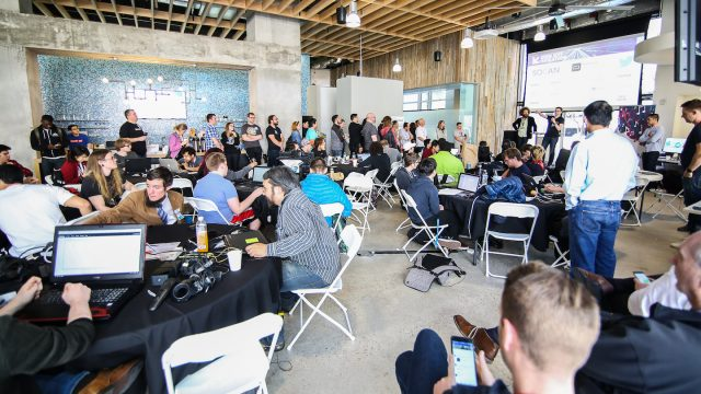 2017 SXSW Hackathon photo by Randy and Jackie Smith