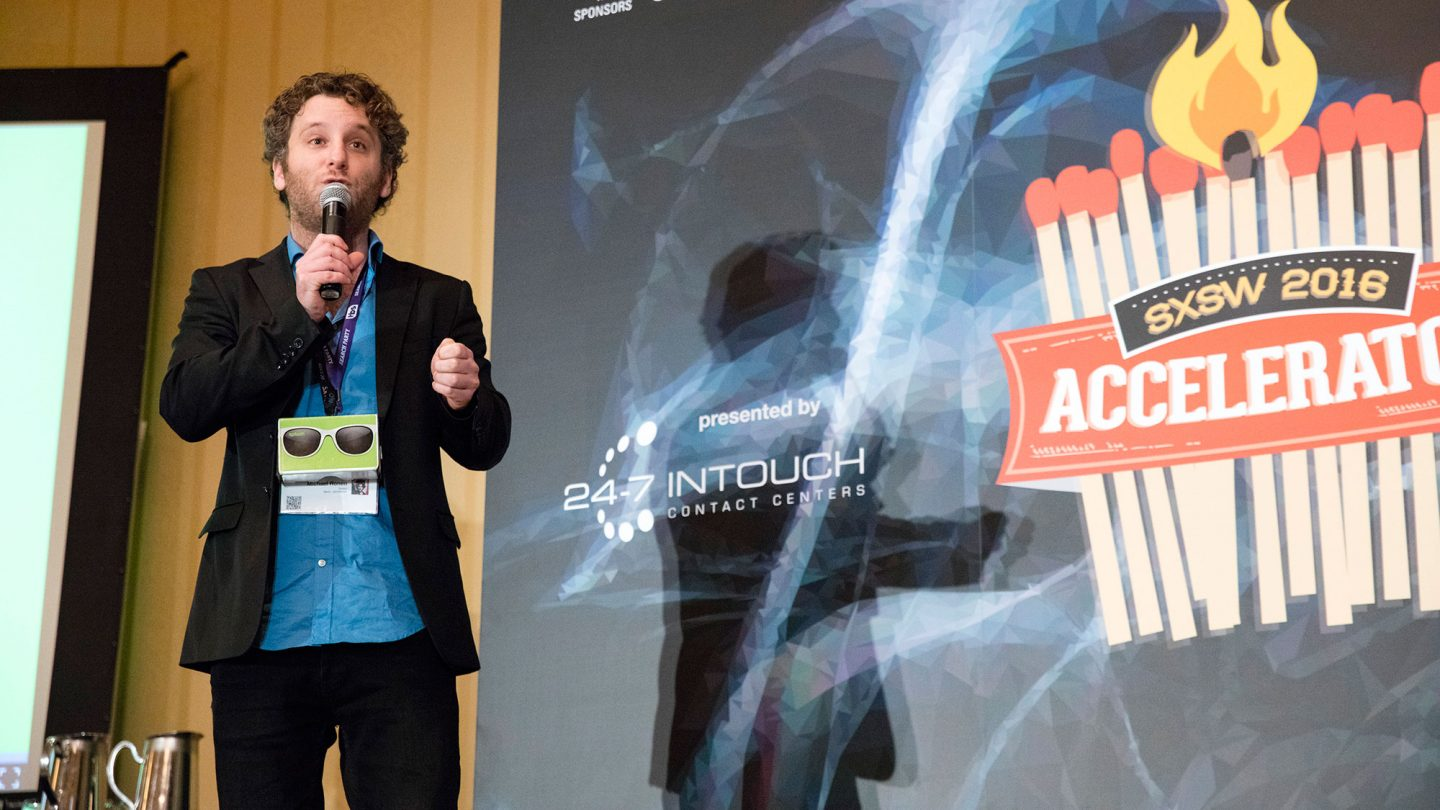 SXSW Accelerator presentations at SXSW 2016. Photo by Amanda Brooks Piela.