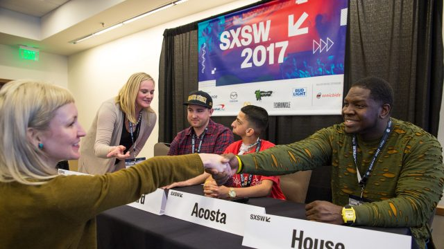 2017 Panel, Arts + Inclusivity: a Hip Hop Story – Photo by Tyler Draker