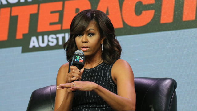 Michelle Obama at SXSW 2016. Photo by Neilson Barnart/Getty Images.