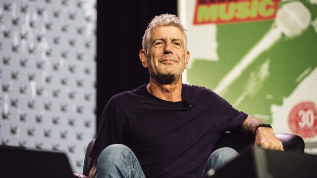 2016 SXSW Featured Speaker, Anthony Bourdain