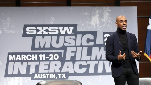 Casey Gerald speaks at the Opening Keynote: Casey Gerald during the 2016 SXSW Music, Film + Interactive Festival at Austin Convention Center on March 11, 2016 in Austin, Texas.