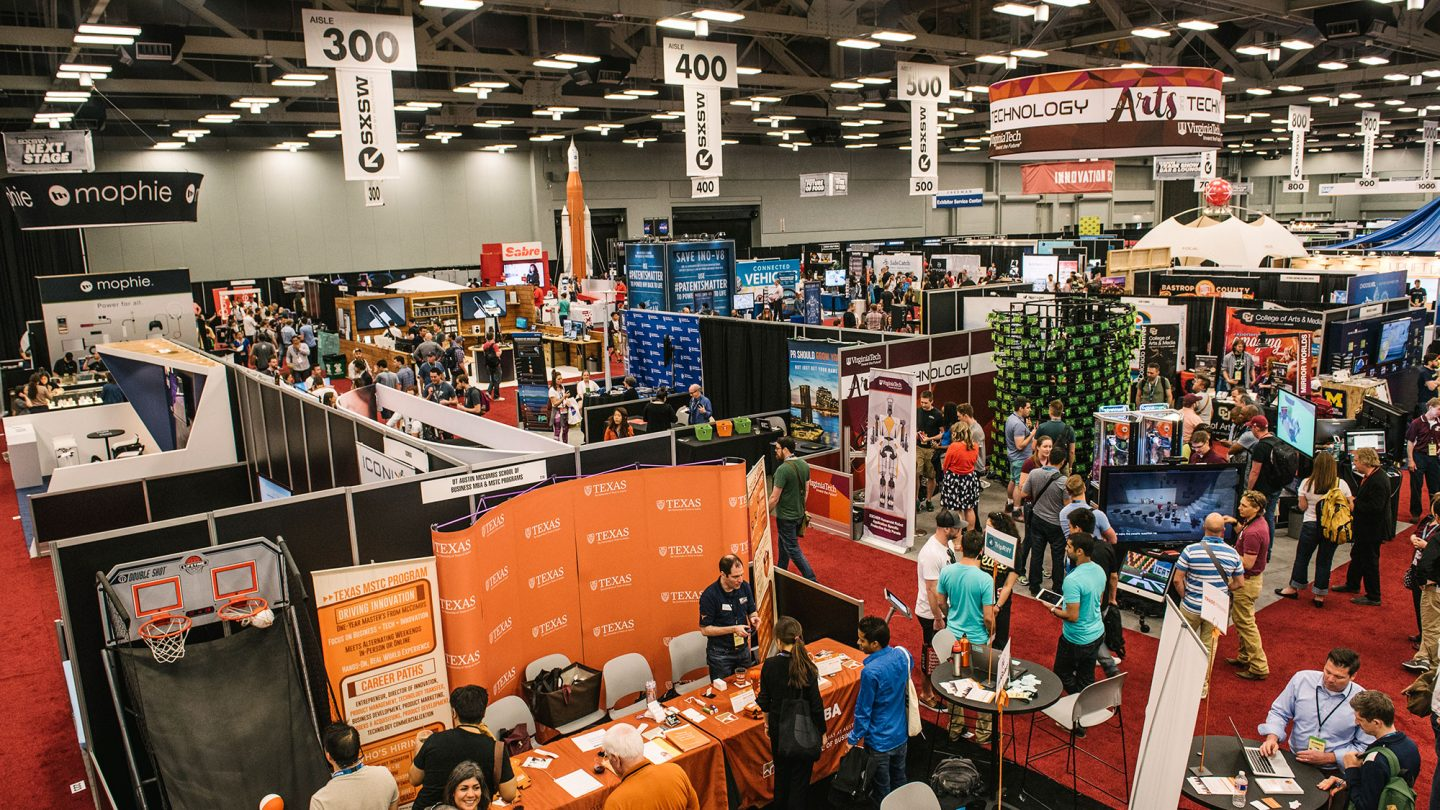Trade show sxsw conference festivals for Trade exhibition