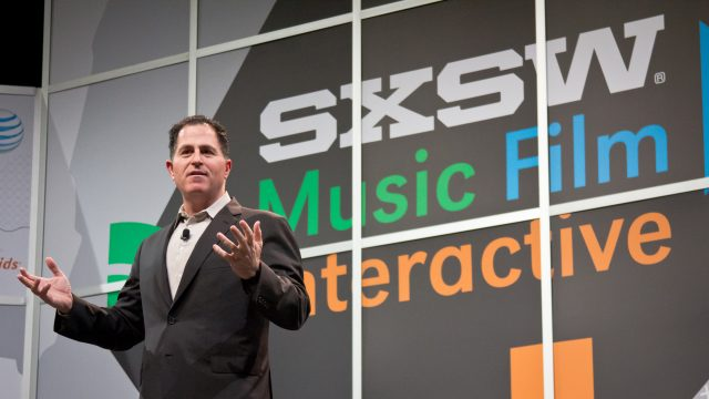 Michael Dell at SXSW 2015. Photo by Adrianne Schroeder