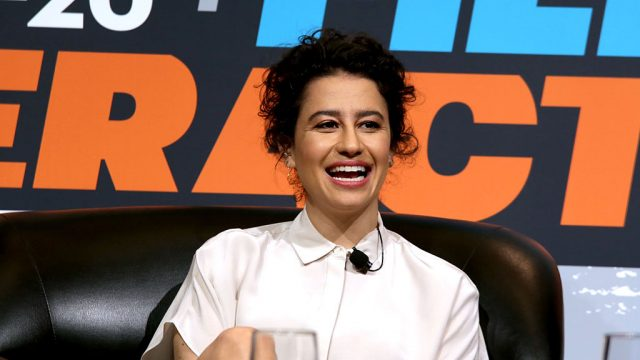 "AUSTIN, TX - MARCH 12:  Actress Ilana Glazer speaks onstage at ""Marie Claire Talks to the Stars of Broad City"" during the 2016 SXSW Music, Film + Interactive Festival at Austin Convention Center on March 12, 2016 in Austin, Texas.  (Photo by Sandra Dahdah/Getty Images for SXSW)"