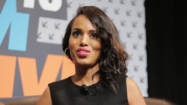 Kerry Washington speaks onstage at