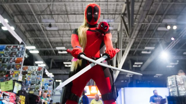 A SXSW attendee attends the Gaming Expo in Cosplay attire