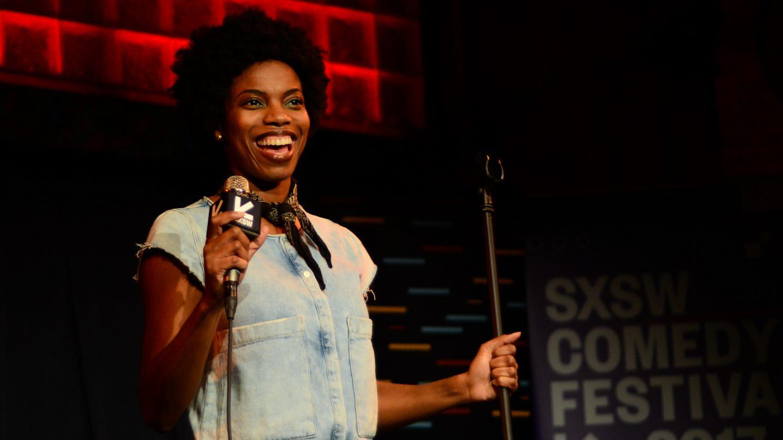 Sasheer Zamata at 2017 SXSW Comedy Festival – Photo by Mai Schotz